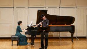 2019年コンサート ピアノとフルート